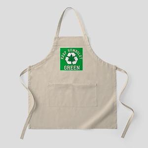 Keep Humboldt Green BBQ Apron