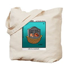 #28 In a nutshell Tote Bag