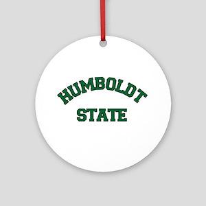 Humboldt State Ornament (Round)