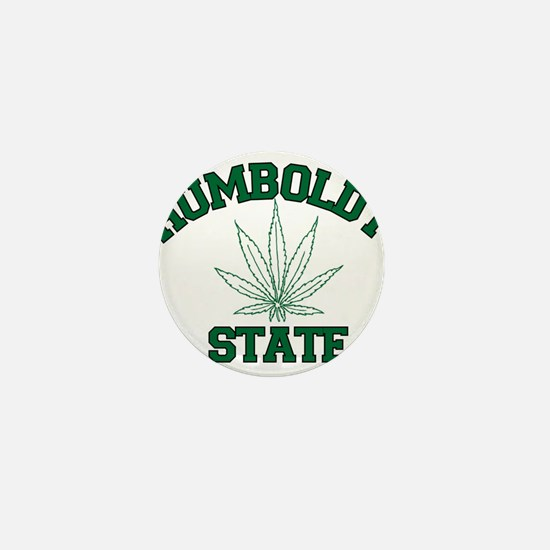 Humboldt Pot State Mini Button