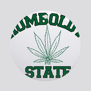 Humboldt Pot State Ornament (Round)