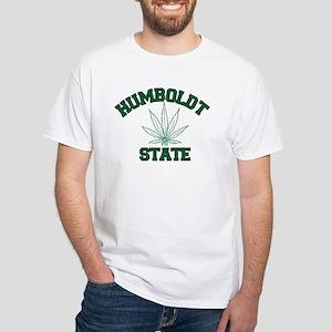 Humboldt Pot State White T-Shirt