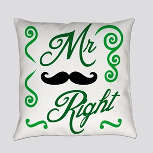 Mr Right Everyday Pillow