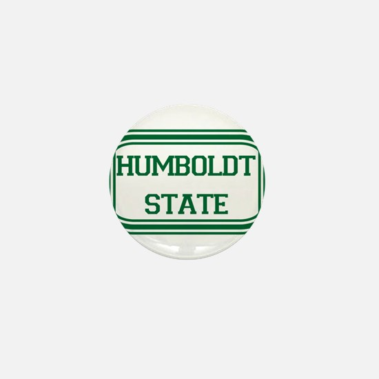 Humboldt State Rect Mini Button