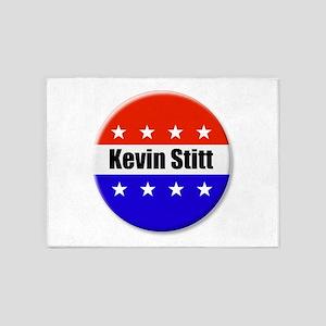 Kevin Stitt 5'x7'Area Rug