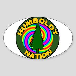 Humboldt Psych Nation Oval Sticker