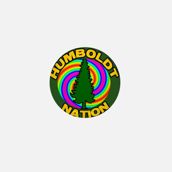Humboldt Psych Nation Mini Button