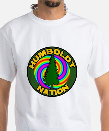 Humboldt Psych Nation White T-Shirt
