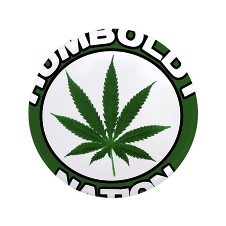 "Humboldt Pot Nation 3.5"" Button"