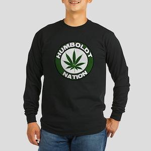 Humboldt Pot Nation Long Sleeve Dark T-Shirt