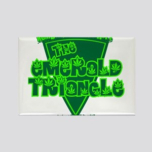 The Emerald Triangle Rectangle Magnet