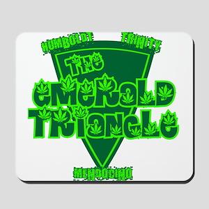 The Emerald Triangle Mousepad