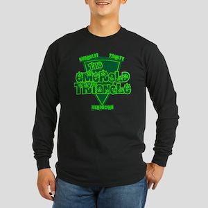 The Emerald Triangle Long Sleeve Dark T-Shirt