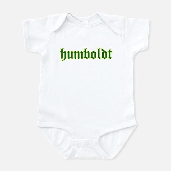 Humboldt Green Script Infant Bodysuit