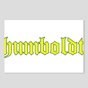 Humboldt Gold Script Postcards (Package of 8)