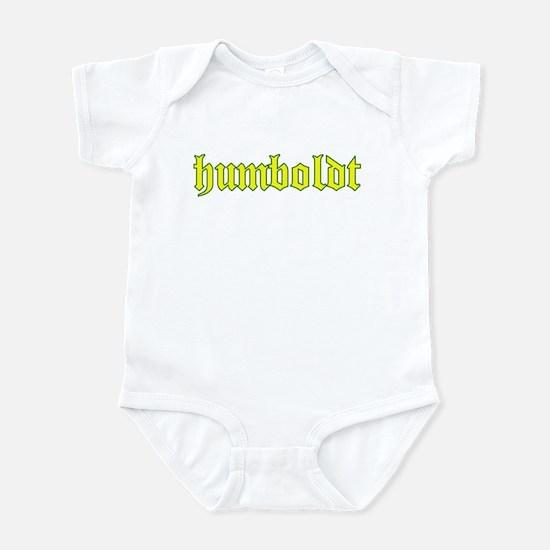 Humboldt Gold Script Infant Bodysuit