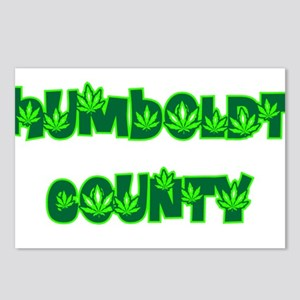 Humboldt County Pot Postcards (Package of 8)