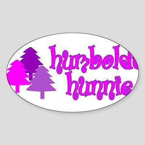 Humboldt Hunnie Oval Sticker