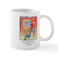 #49 Keyboard's fault Mug