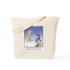 #50 Freshly dug graves Tote Bag