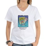 #56 Foreign language Women's V-Neck T-Shirt