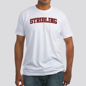 STRIBLING Design Fitted T-Shirt