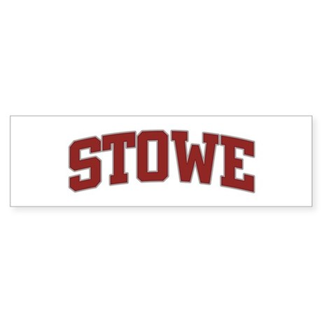 STOWE Design Bumper Sticker