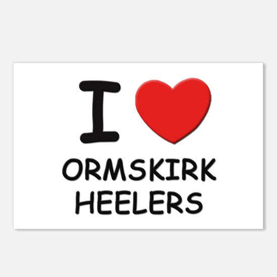 I love ORMSKIRK HEELERS Postcards (Package of 8)