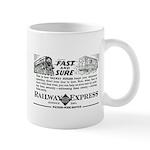 Fast & Sure-Railway Express Mug