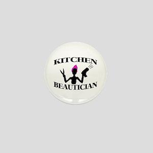 Kitchen Beautician Mini Button