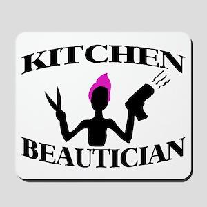 Kitchen Beautician Mousepad