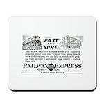 Fast & Sure-Railway Express Mousepad