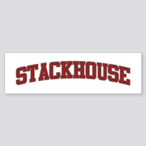 STACKHOUSE Design Bumper Sticker