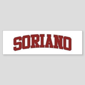 SORIANO Design Bumper Sticker