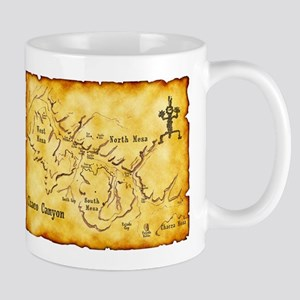 Chaco Canyon Map Mug