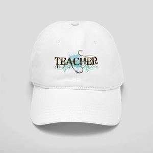 Cool Blue TEACHER Cap