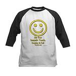 Happy Is He Whom Keeps Torah Kids Baseball Jersey