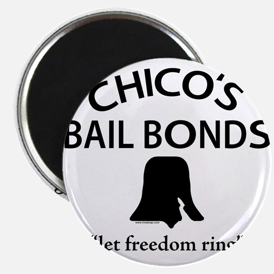 "Chico's Bail Bonds 2.25"" Magnet (100 pack)"