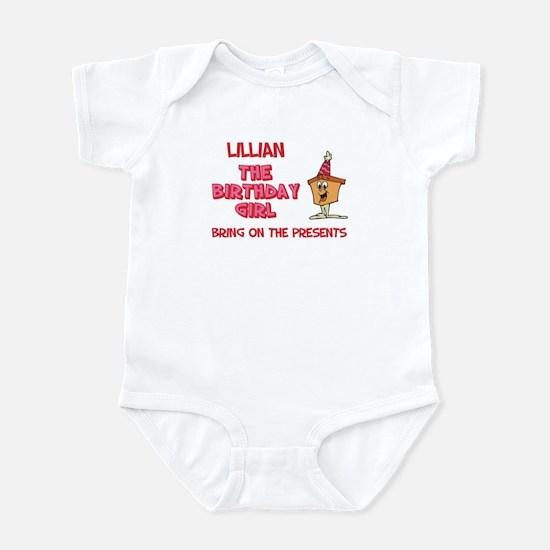 Happy Birthday Lillian Infant Bodysuit