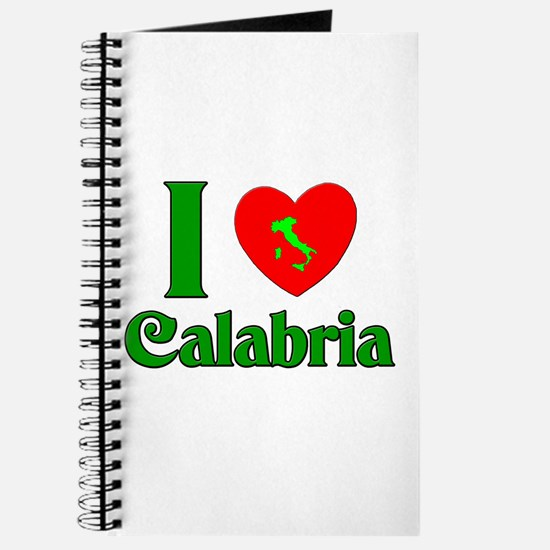 I Love Calabria Journal