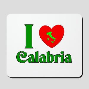 I Love Calabria Mousepad