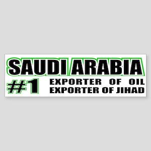 Saudi Arabia --#1 Bumper Sticker