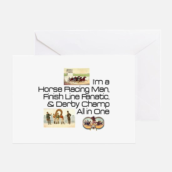 Derby Champ Greeting Card