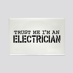 Trust Me I'm An Electrician Rectangle Magnet