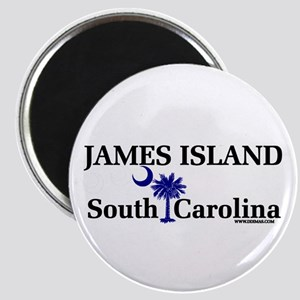 James Island Magnet