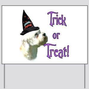 Dandie Trick Yard Sign