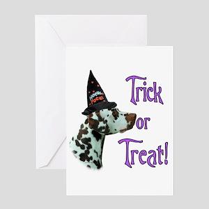 Dalmatian Trick Greeting Card