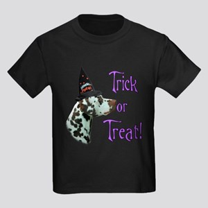 Dalmatian Trick Kids Dark T-Shirt