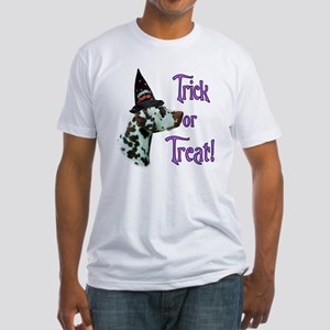 Dalmatian Trick Fitted T-Shirt