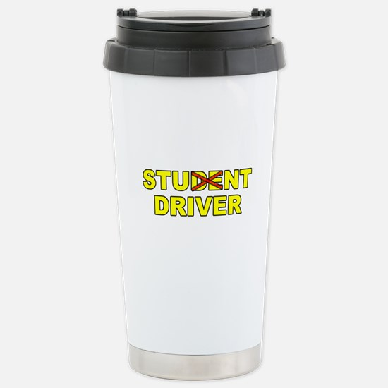 Student Stunt Driver Stainless Steel Travel Mug